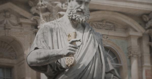 Il Papa è veramente il successore designato dell'apostolo Pietro?