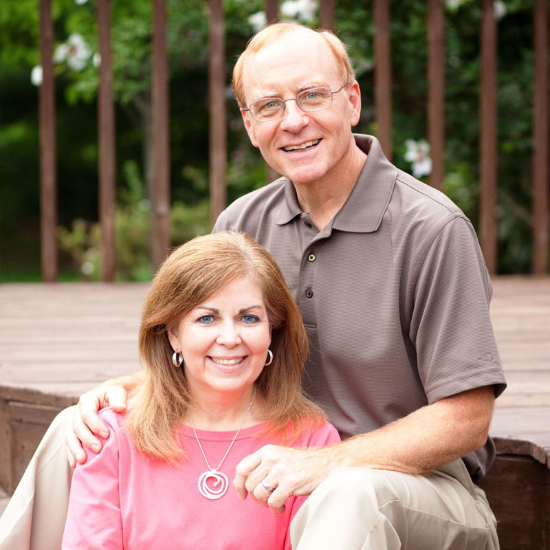 Larry McCall e la moglie Gladine