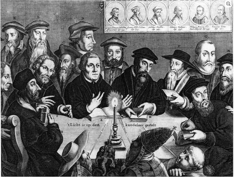 Predica la Parola (ricordando la Riforma Protestante, 31 ottobre 1517)
