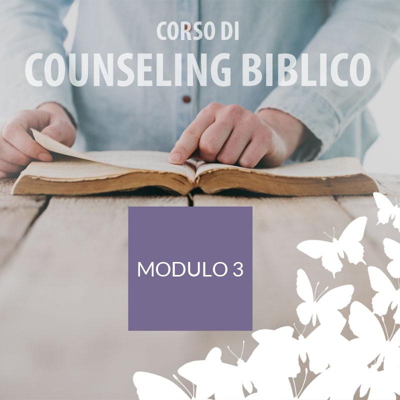 Counseling - Modulo 3