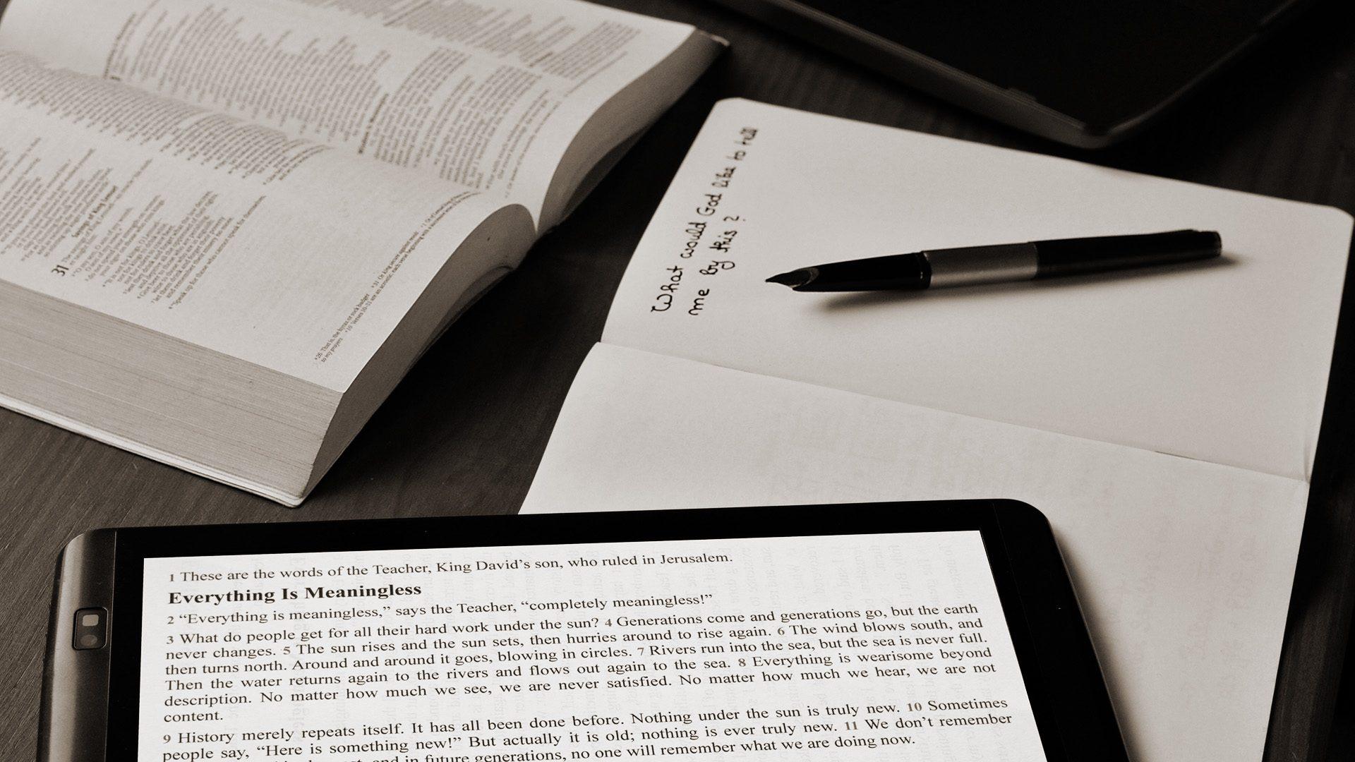Quattro aspetti che la conclusione dell'Ecclesiaste dovrebbe insegnarci