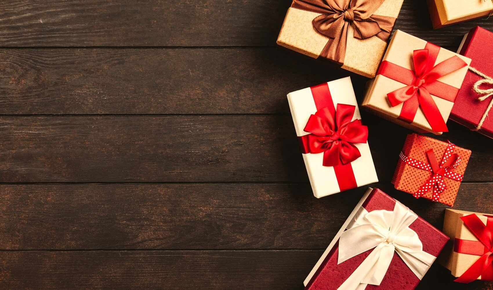 Pacchetti regalo per le festività 2020